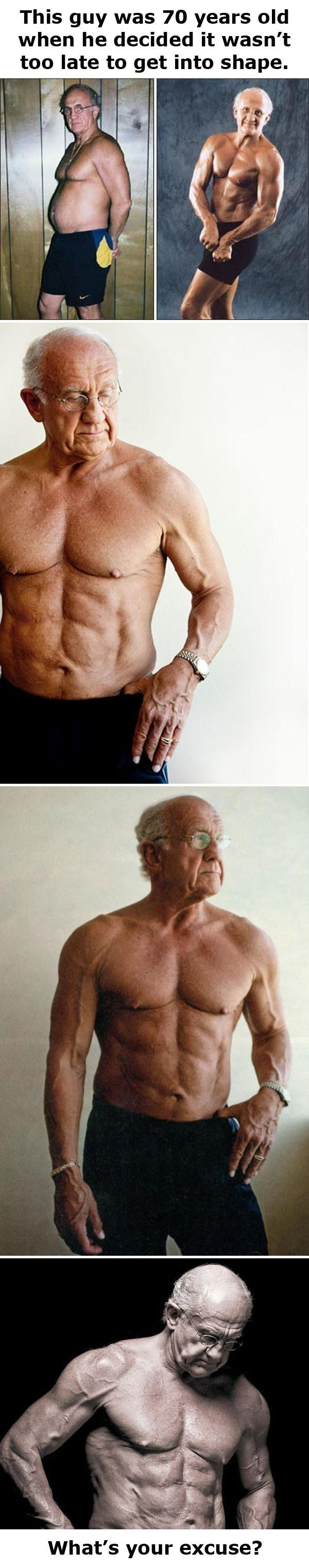 Old guy... wait, what?!