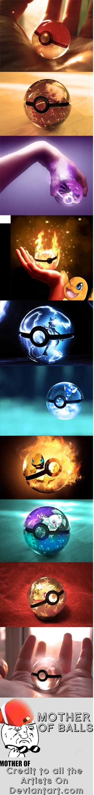 Heard you like pokeballs