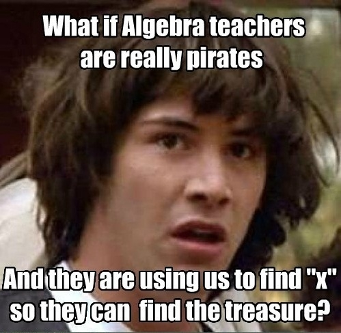 Algebra teachers decoded