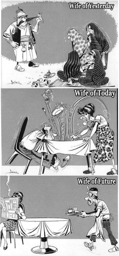 Evolution of Wives