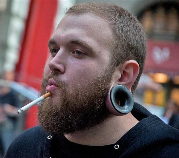 Smoking the cool way