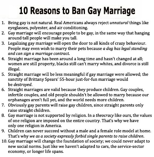 10 reasons to ban..