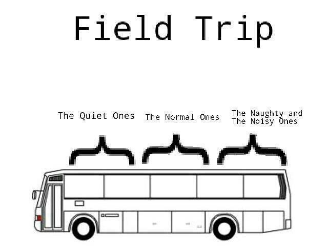 Every time during a field trip