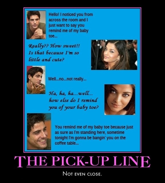 Coffee Table Pick Up Line.Pick Up Line Fail