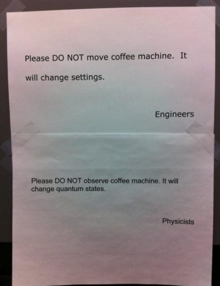 Engineers vs. Physicists