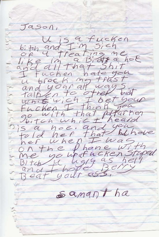 best break up letter by kid