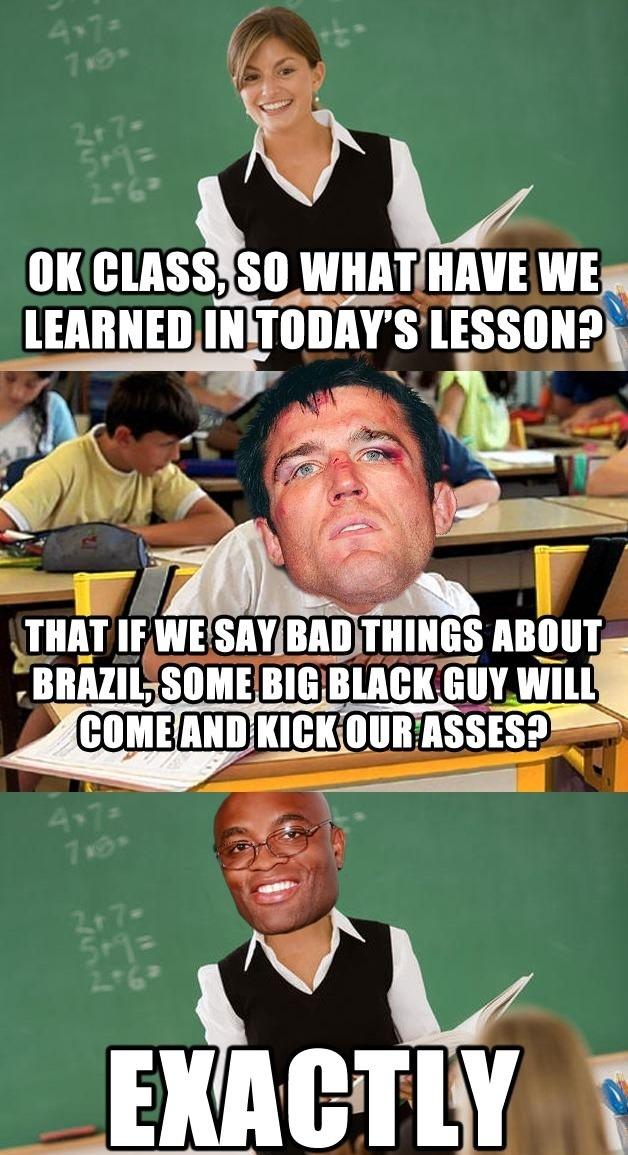 The UFC Class