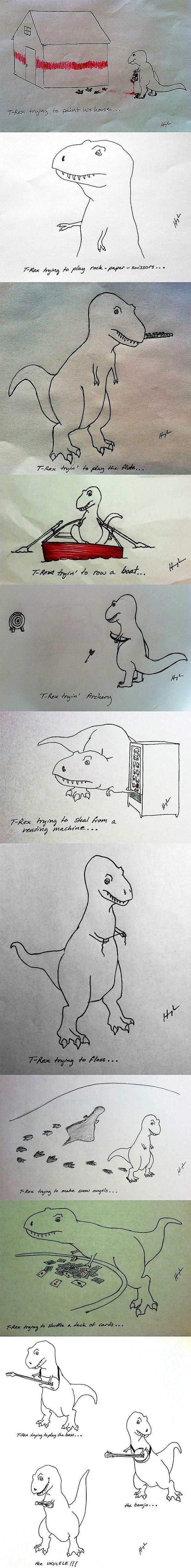 Poor T-Rex.. not anymore!