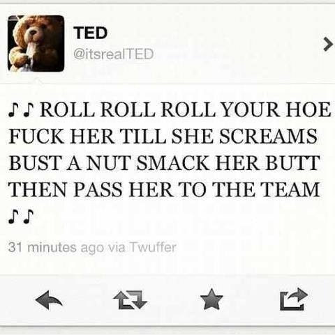 Silly Ted!