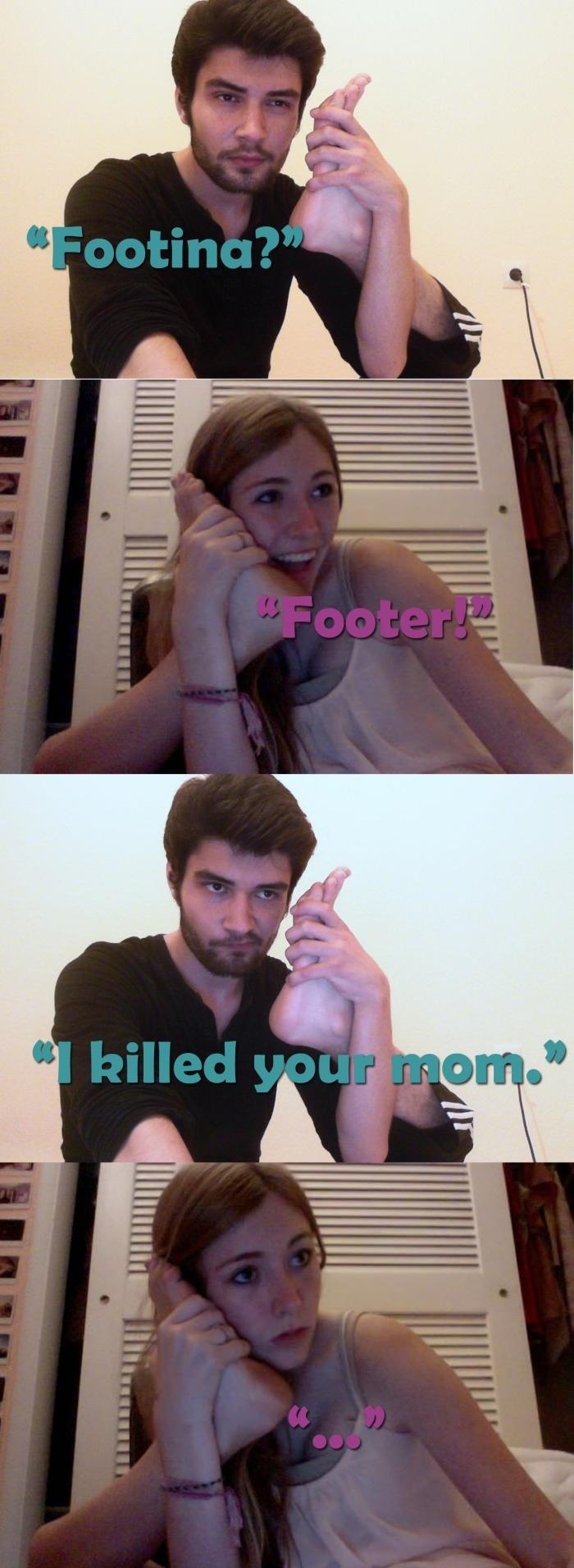 Foot talk