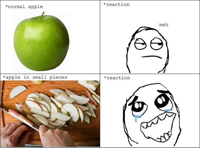 Apple eating logic
