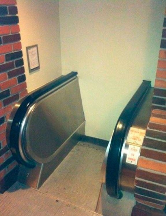 Escalator to Hogwarts