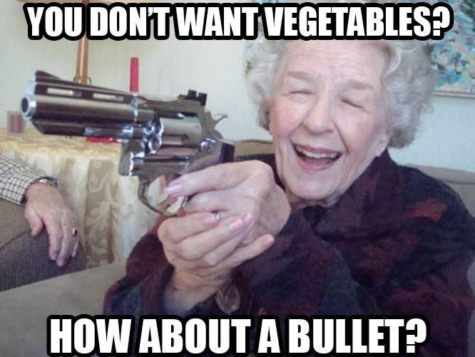 Violent Grandma