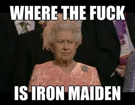 Queen is not impressed