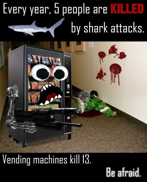 Sharks are dangerous