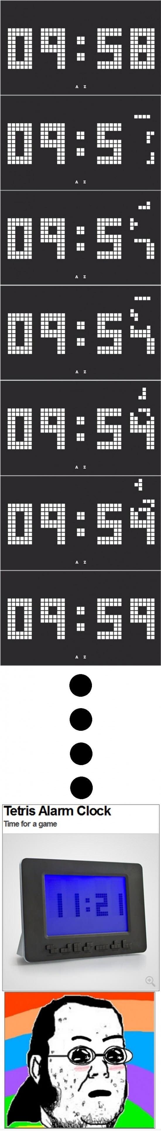 Just an ordinary clock?