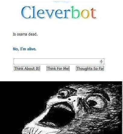 Cleverbot has a different answer