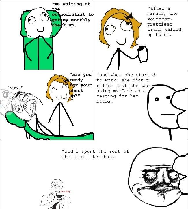 Wish my dentist was a lady