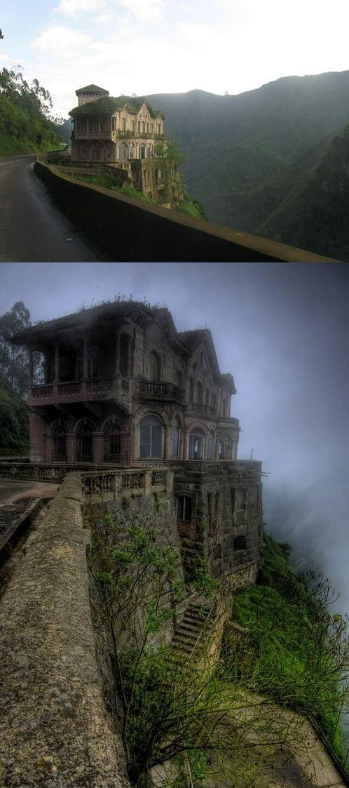 An Abandoned Hotel