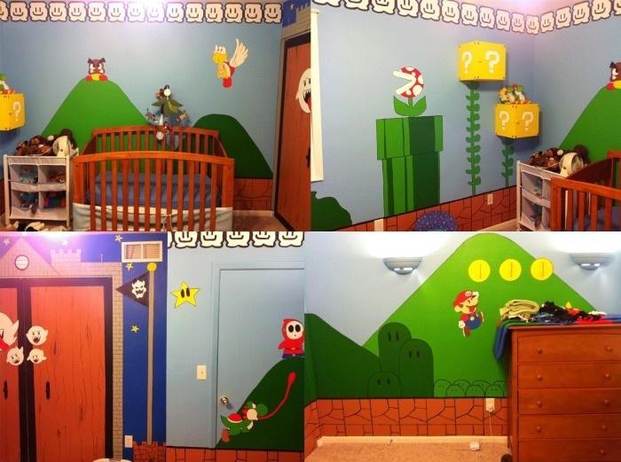 Super Mario Room