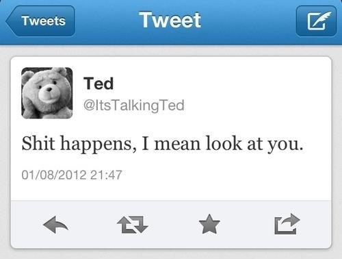 Ted has spoken