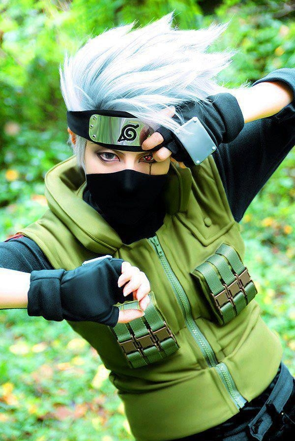 Awesome Kakashi Cosplay