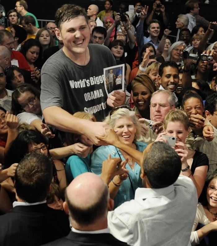 Biggest Obama Supporter