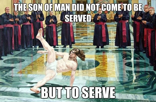 Break-dancing Jesus