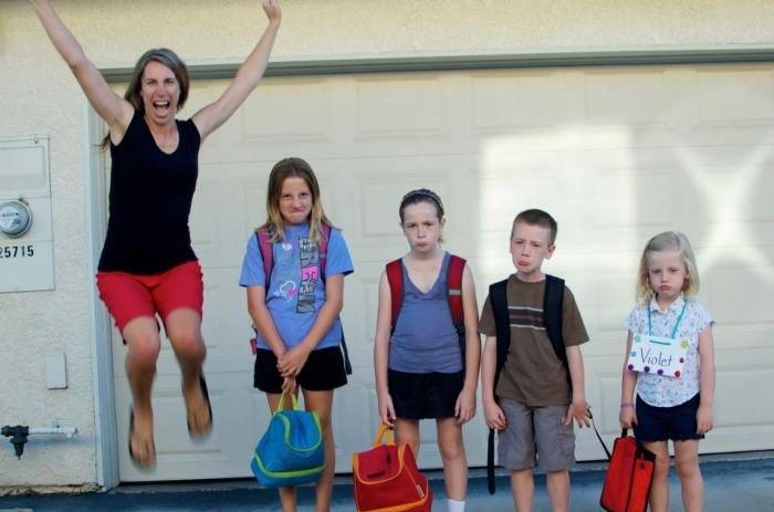 Best back-to-school photo!