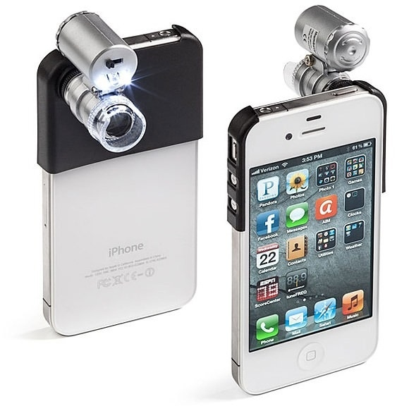 Microscope for iPhone