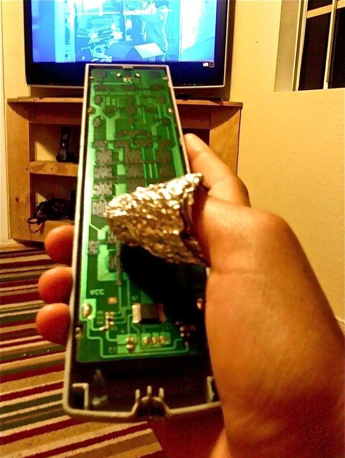 TV remote is broken