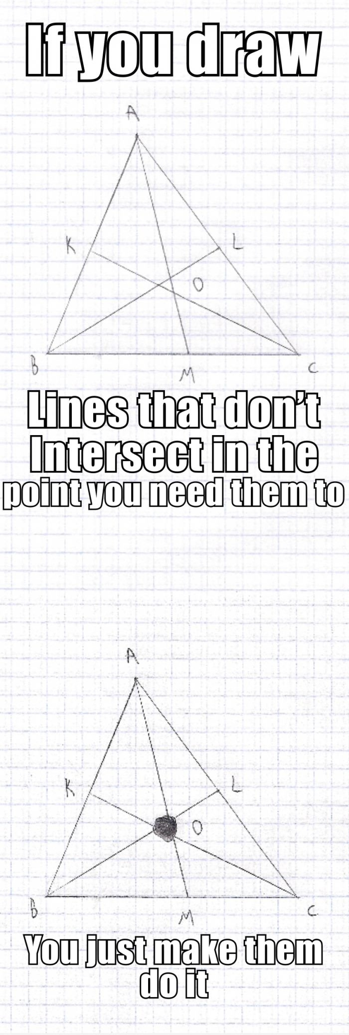 Geometry, is it just me?
