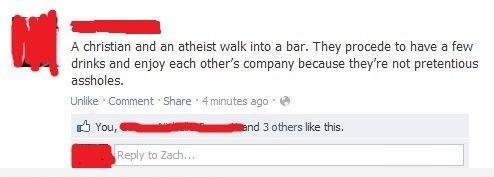 A Christian & Atheist