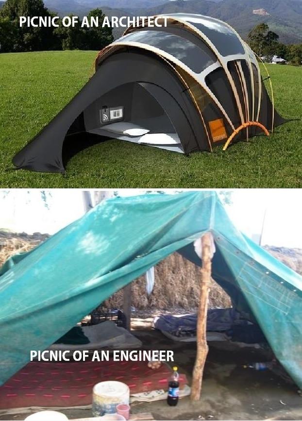 Architects VS. Engineers