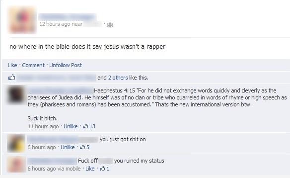 Is Jesus a rapper?