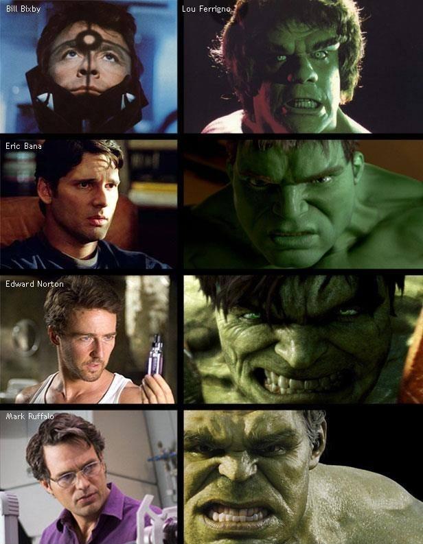 The Different Hulks