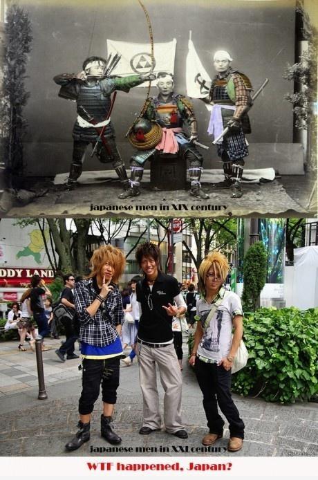 What happened, Japan?