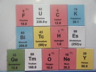 The only elements i know