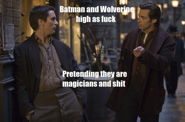 Watching 'The Prestige'