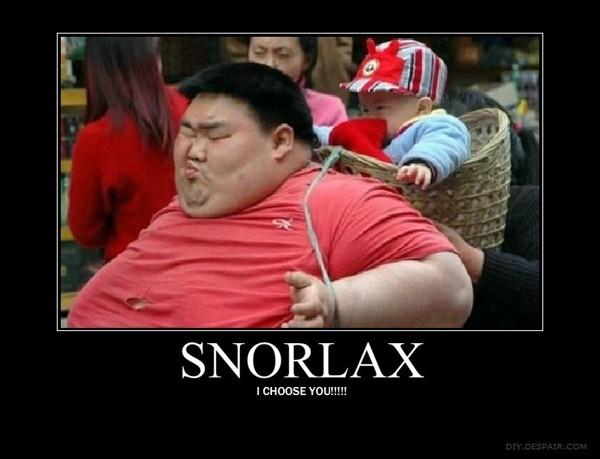 Snorlax, I Choose You!!!