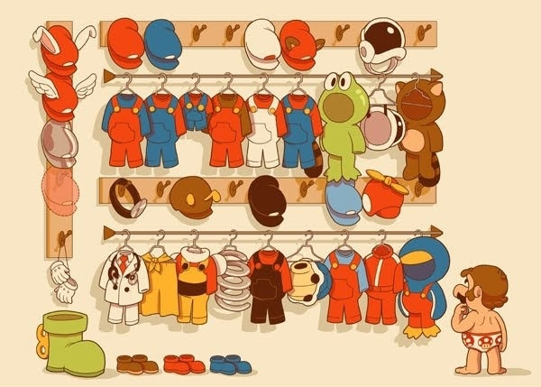 So many outfits!