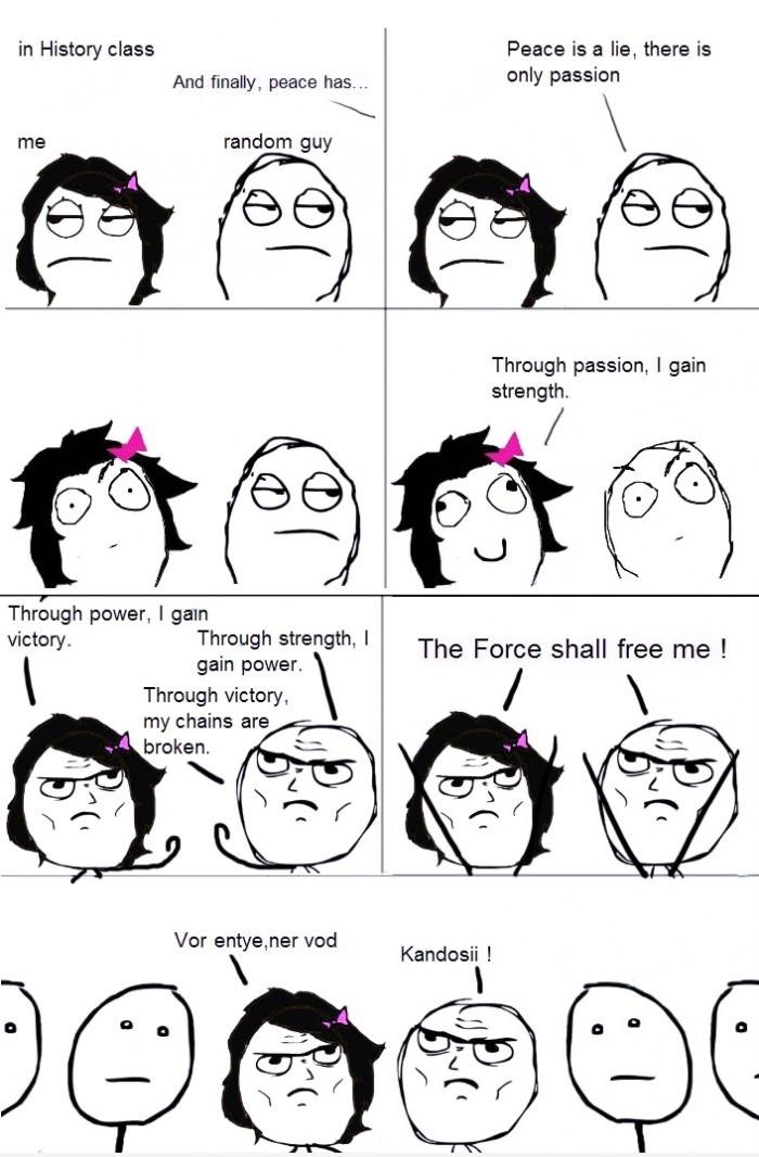 History class geek moment