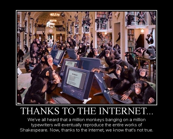 Thanks to the internet..