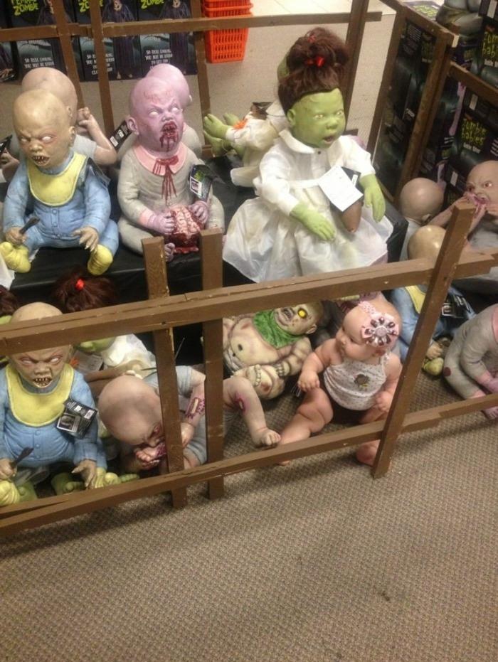 Zombie babies, wait what?!
