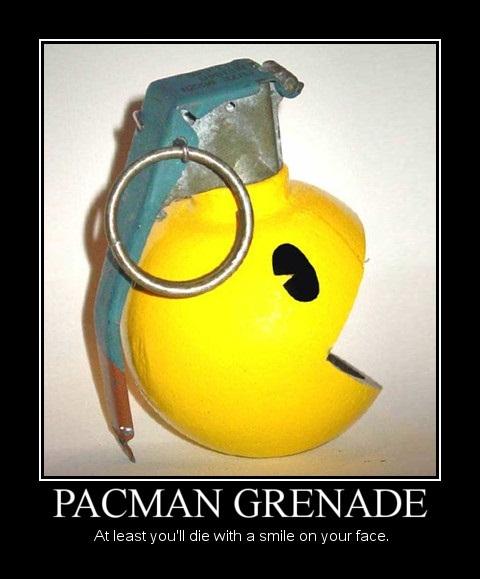 Pacman Grenade