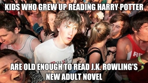 J.K.Rowling is a genius!