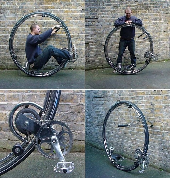 Monowheel cycle