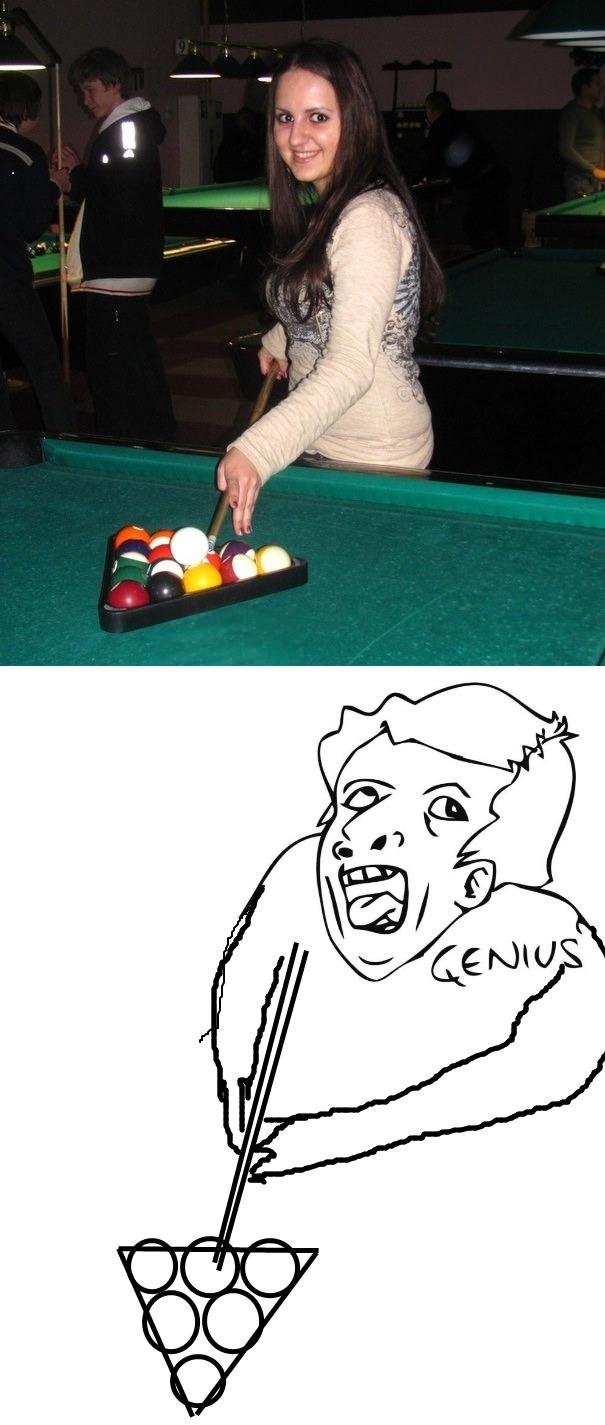 Pool genius