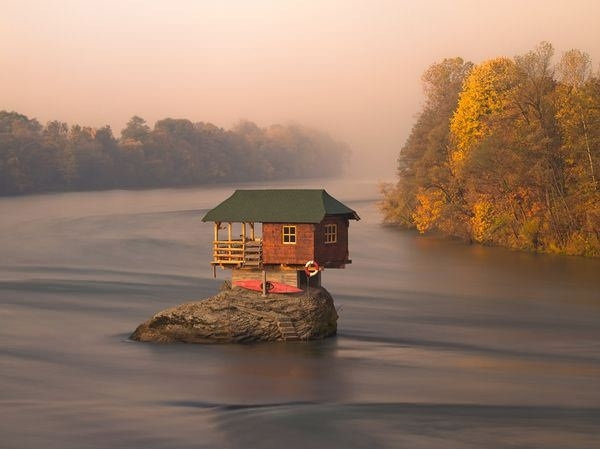 River House in Serbia
