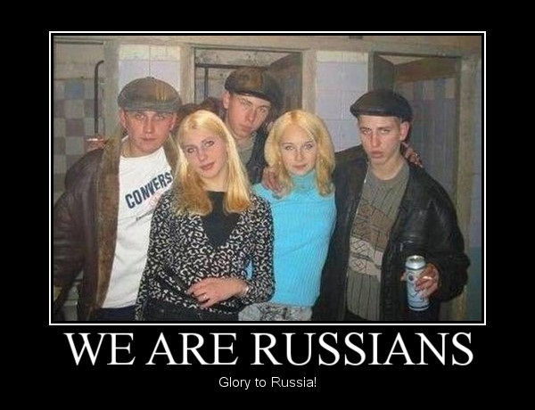 We are Russians